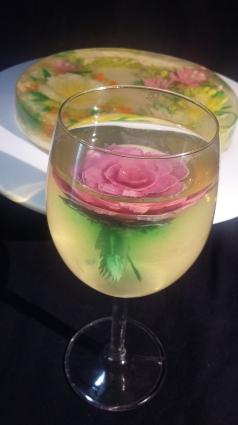 3D gelatin flower