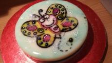 butterfly gelatin