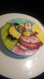 Rabbit Two dimensional gelatin