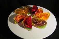 3D Gelatin Flowers